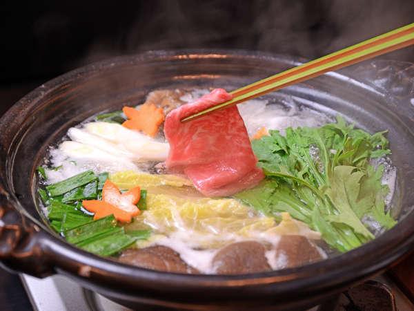 【 特選・豊後の旨鍋 】 すき焼き・しゃぶしゃぶ・水炊き・すっぽん4種からセレクト旨鍋プラン