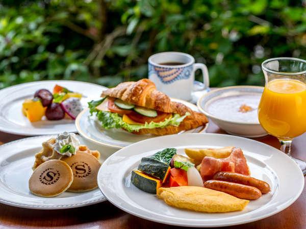 【朝食付】サックサクのクロワッサン、ふわふわオムレツはいかが?自慢の朝食ビュッフェ付プラン