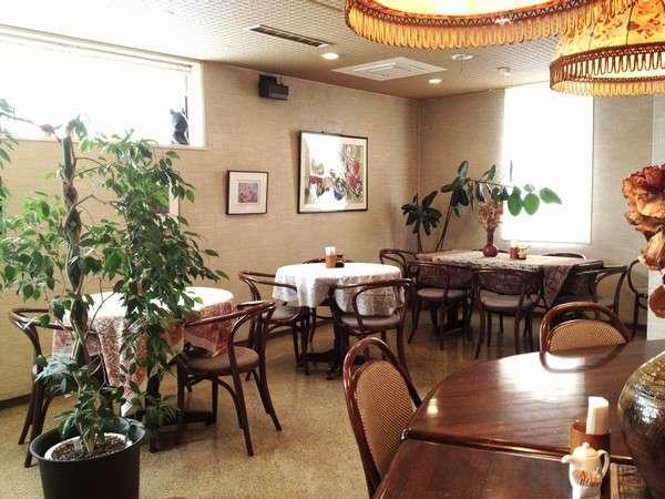 画廊風なレストランにて朝食をご用意致します。★要・予約