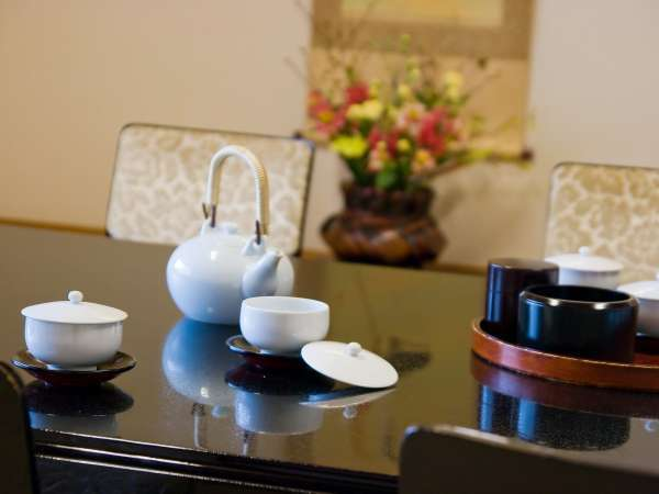 ■部屋設備/お部屋に到着したらまずはお茶でも!