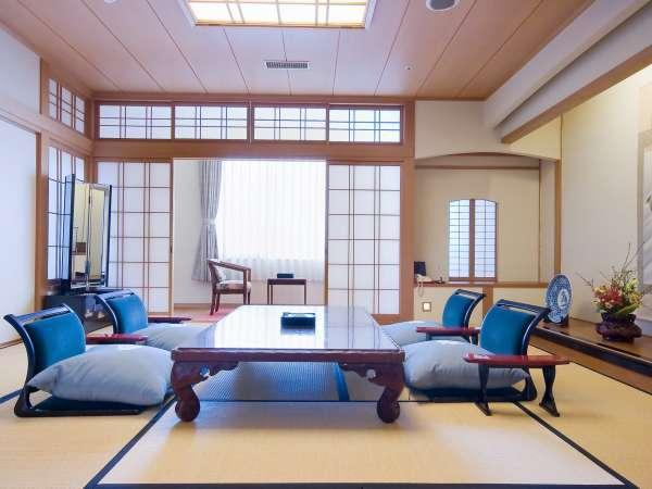■和室12.5畳/6名様までご利用可能な広めのお部屋です。