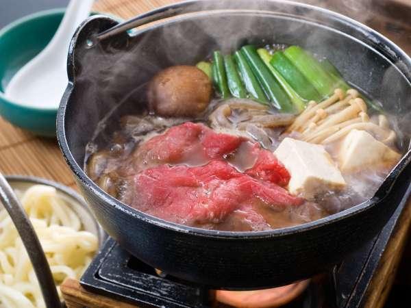 ■夕食(会席)/当館イチ押しの牛鍋