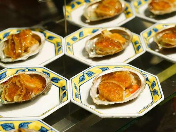 ■夕食(ハ゛イキンク゛)/期間限定★あわびのジュレがけ♪贅沢に高級食材を召し上がれ!