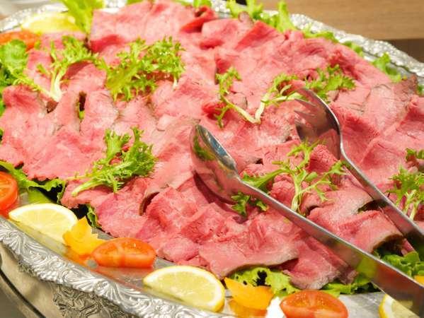 ■夕食(ハ゛イキンク゛)/ローストビーフ★小皿に取り分けてご提供する事もあります!