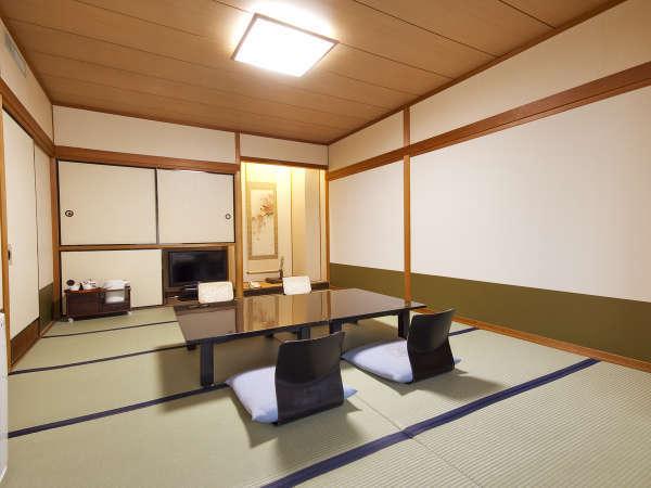 ■和室10畳/5名様までご利用いただけるスタンダードの和室です。