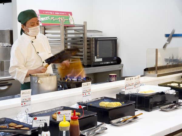 ■朝食/日本の心!?出汁巻き卵♪実は味付けが2種類あるよ!