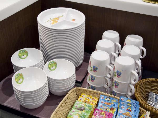 ■Buffet TSUBAKI / お子様用の食器などもご用意しております。