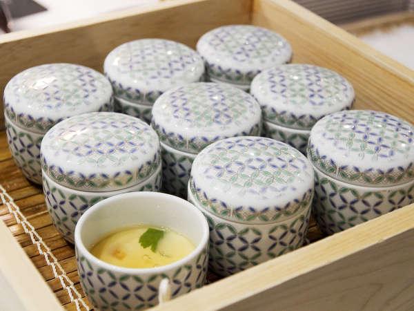 ■夕食(ハ゛イキンク゛)/茶碗蒸しはちびっこにも大人気!