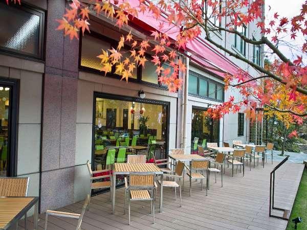 Buffet TSUBAKI / ≪テラス席≫秋のテラスで紅葉を満喫しながらのお食事も◎♪