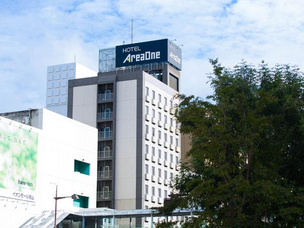 ホテルエリアワン岡山の外観