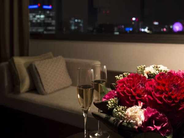 【Premium Collection★素泊り】夜景を一望できる高層階で上質ホテルステイ★プール・ジム・サウナ利用券付