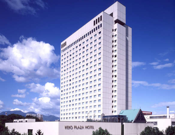 京王プラザホテル札幌の外観