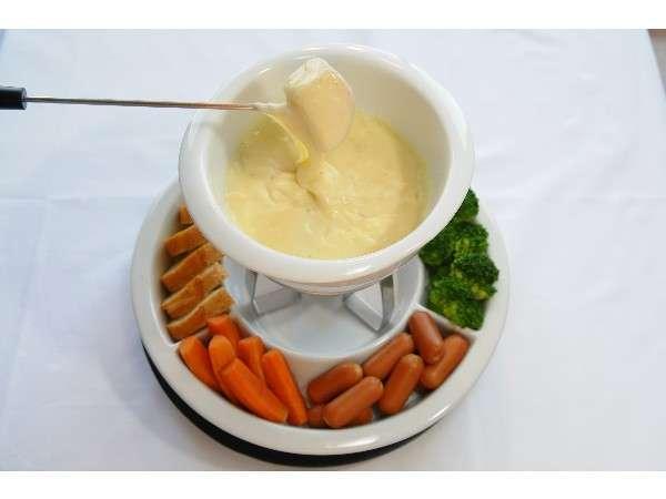 ☆ デラックス パノラマ ビュー ☆ ツインベッド ルーム ☆ 【2食付】 チーズフォンデユプラン