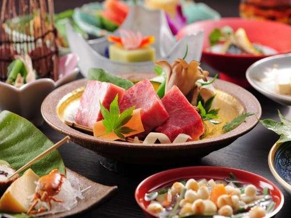 【創作会津郷土料理一例】郷土料理を、どなたのお口にも合うようにアレンジしました。