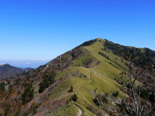 *つるぎ山/日本百名山に選定される徳島県のシンボル