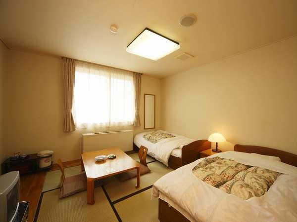 和室とベッドの組み合わせになります
