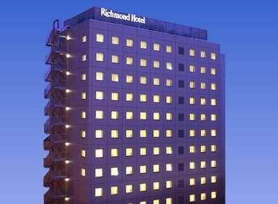 リッチモンドホテル熊本新市街の外観