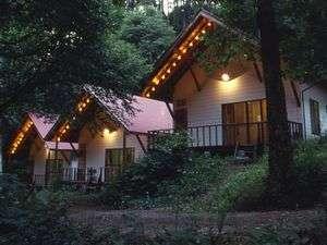 森の小さなリゾート村 桜清水コテージの外観
