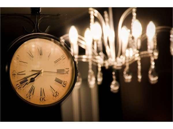 【レストラン】時計のインテリア