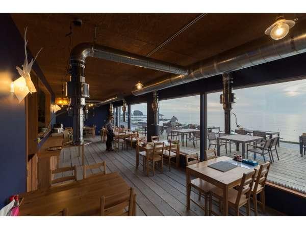 1泊2食付 ★大きな窓、あなた解き放つ。目の前にオホーツク海を感じながら★食事は海辺のレストランで…