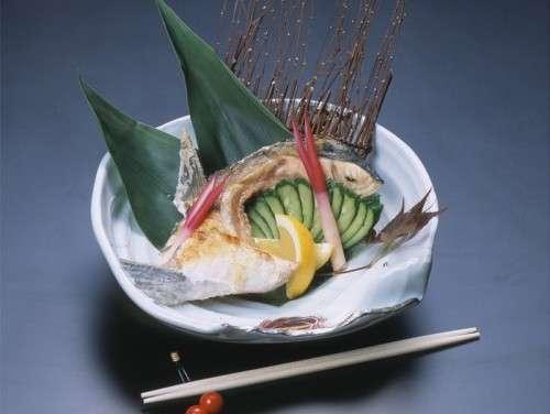 【別注料理】かんぱちカマ塩焼き◆一人前 1,300円(税込)