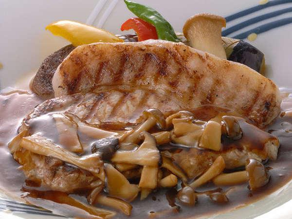 【チョイス一品】牛の網焼きステーキ