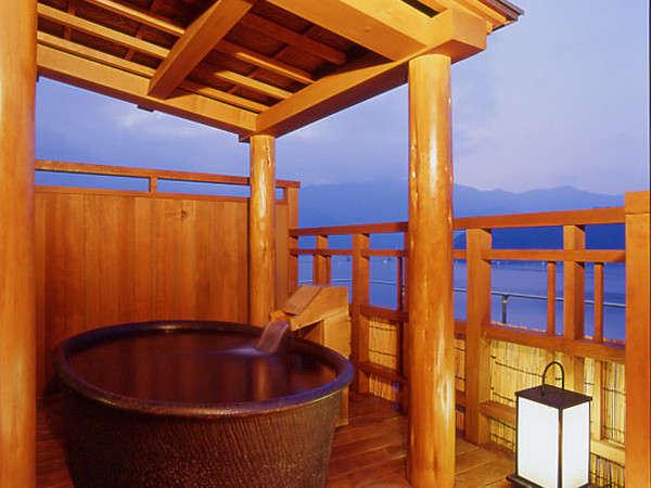展望風呂「天空の湯」露天風呂