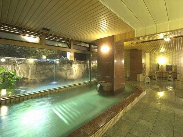 大浴場(サウナ付)「湖汀の湯」