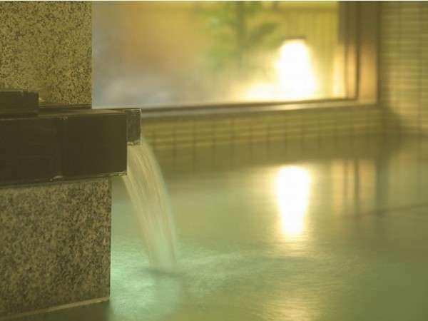 大浴場(サウナ付)「清流の湯」
