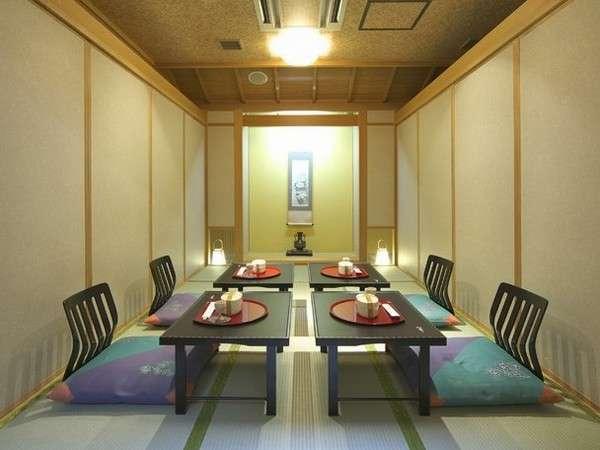 お食事はお部屋もしくは個室の料亭でごゆっくり♪