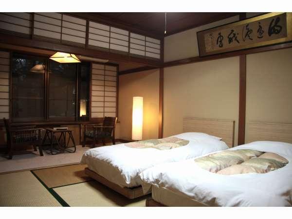 和室+ツインベッド(バスなし)