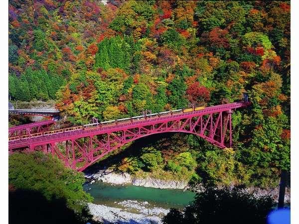 黒部峡谷の紅葉は絶景です♪紅葉狩りに行きませんか。