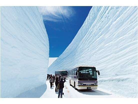 一度は訪れたい「雪の大谷」≪4/17~6/10≫高さ20Mに迫る雪の壁を生でご体感下さい♪