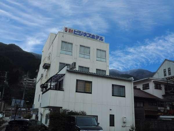 温泉ビジネスホテル富喜屋の外観
