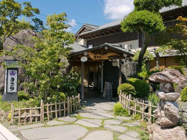 木創りの宿きこり 竹林庭の外観