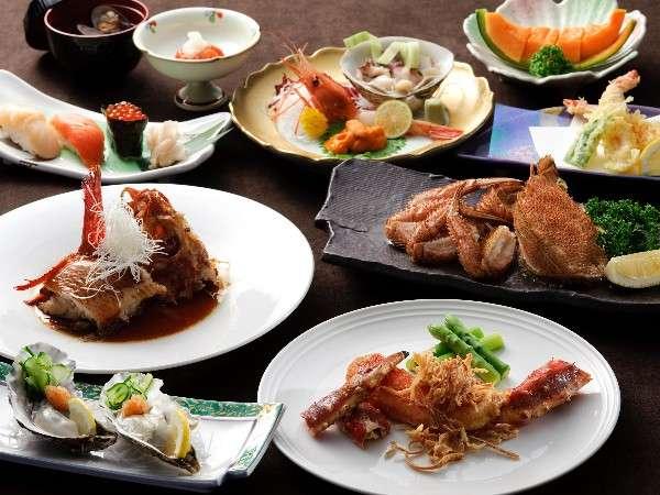 ☆洋食コース☆道産食材をたっぷり使用した料理♪※イメージ