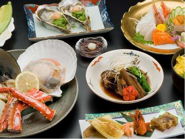 ☆和食懐石膳☆オホーツクの食材をふんだんに使用した料理長自慢の和食懐石♪※イメージ