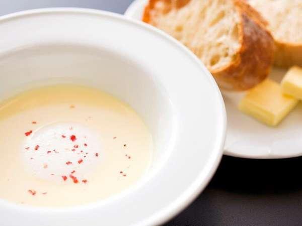 ◆ご夕食<洋食コース/スープ>インカのめざめのポタージュ
