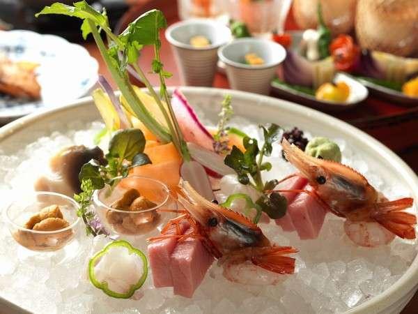 【正規料金】1泊2食付 夕食:特選和食膳プラン