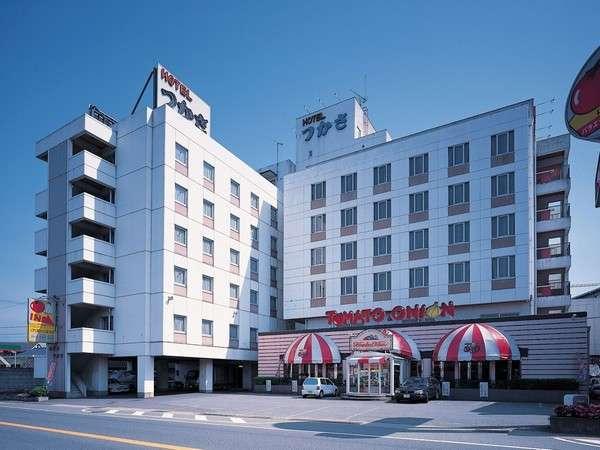 ホテルつかさ 福知山の外観