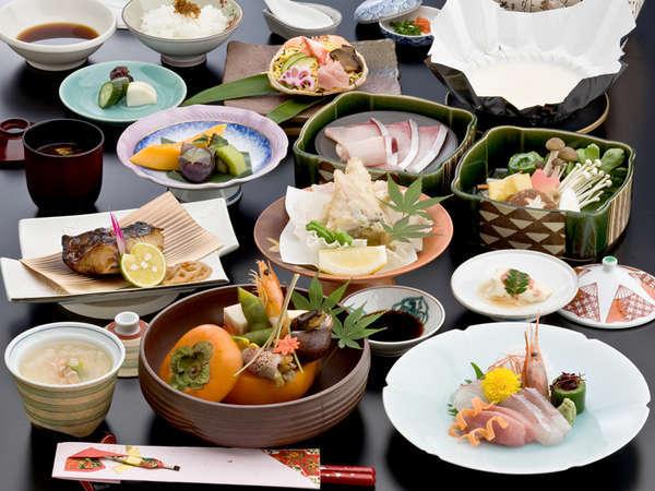 【人気のスタンダード懐石】≪うれしいお部屋食≫若狭小浜海の幸満載★