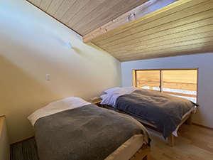 人数が増える場合は別室2ベッドルームをご利用いただけます