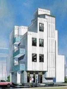 ビジネスホテルHIBARIの外観