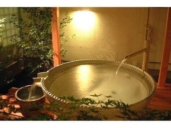 益子焼の露天風呂