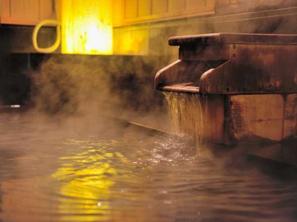 ◆男性大浴場 内湯 天然温泉『青葉の湯』
