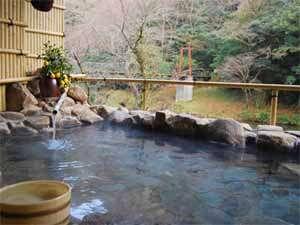 絶景を眺望できる露天風呂