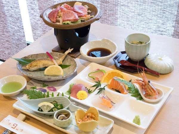 【やまのやどコース(一例)】熊野牛や焼き魚やお造りなど