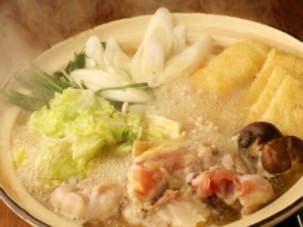 【寒い日にオススメ!】お鍋&ネコちゃんに囲まれて心も身体もぽっかぽか〜っ♪地鶏鍋プラン!