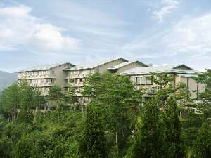 ホテル作州武蔵の外観