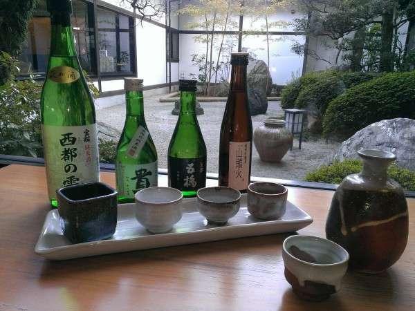 山口の地酒飲みくらべ合戦!ほろ酔いプラン <旬会席〜竹〜>